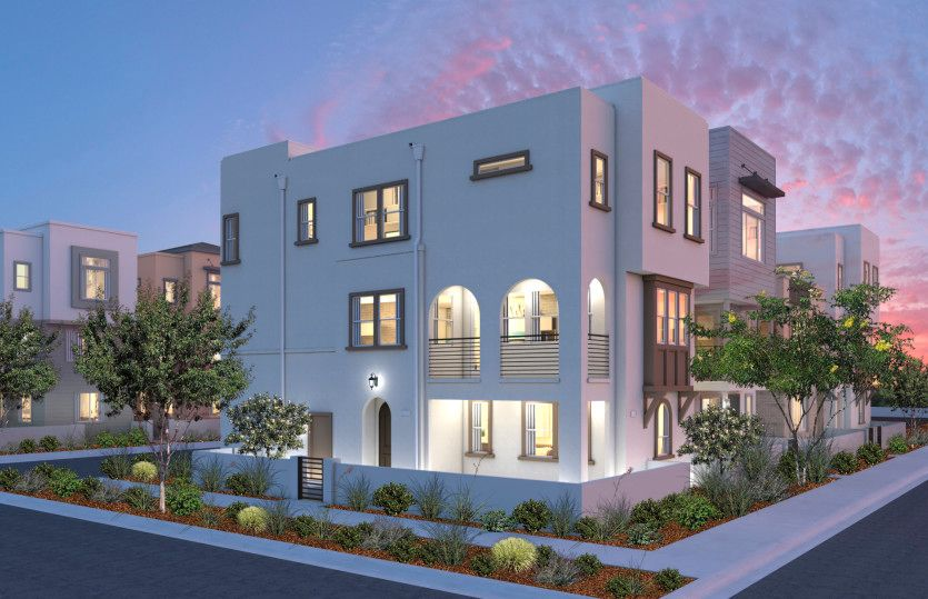 Exterior featured in the Residence 3X By Pulte Homes in Los Angeles, CA