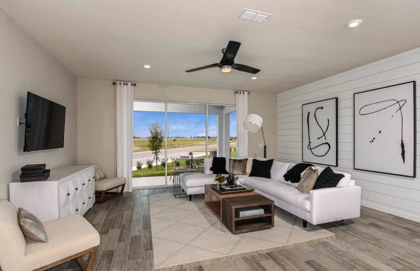 Living Area featured in the Montenero By Pulte Homes in Orlando, FL
