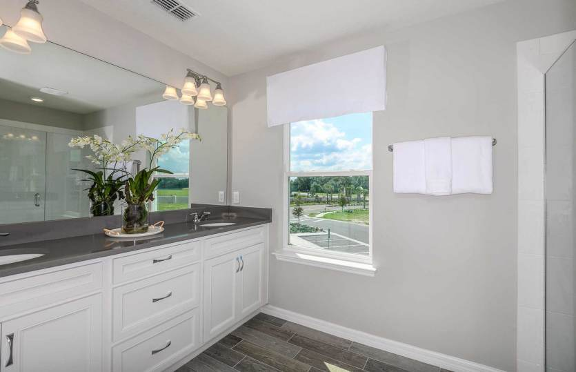 Bathroom featured in the Montenero By Pulte Homes in Orlando, FL