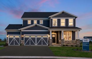 Continental - Hawthorne - Expressions Collection: Cottage Grove, Minnesota - Pulte Homes