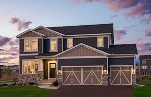 Mercer - Hawthorne - Expressions Collection: Cottage Grove, Minnesota - Pulte Homes