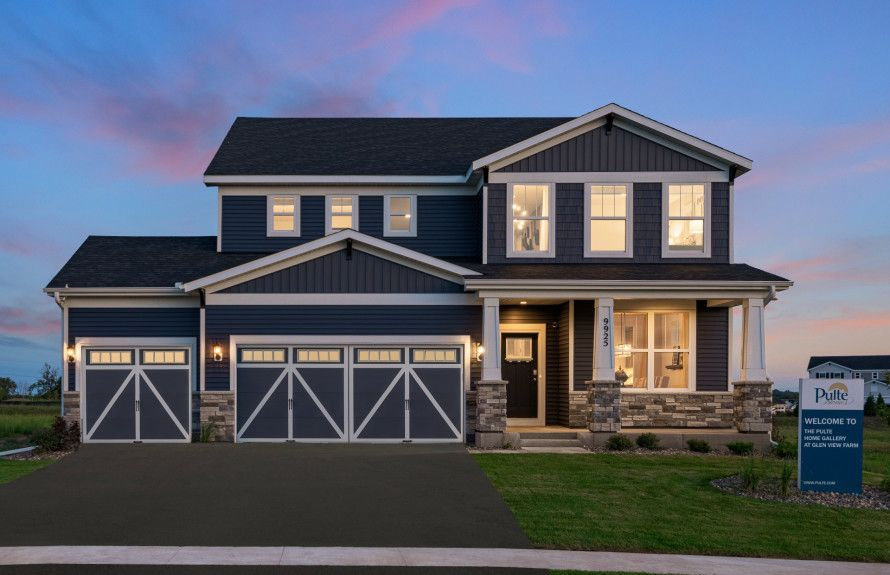 'Glen View Farm - Expressions Collection' by Pulte Homes - Minnesota - The Twin Cities in Minneapolis-St. Paul