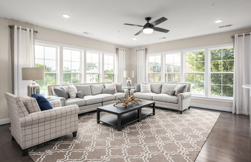 Living Area featured in the Brooklyn By Pulte Homes in Washington, MD