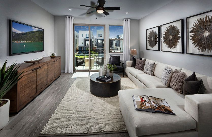 Living Area featured in the Plan 1 By Pulte Homes in San Jose, CA