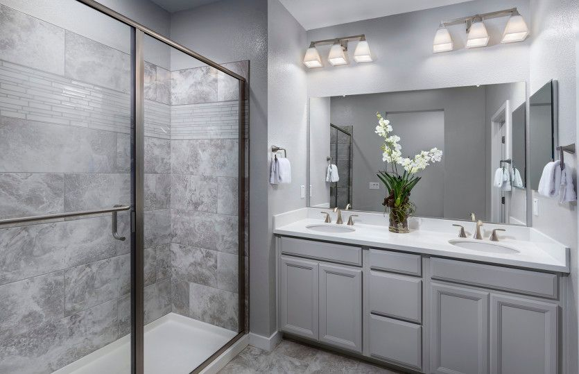 Bathroom featured in the Plan 1 By Pulte Homes in San Jose, CA