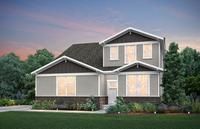 Exterior featured in the Linwood By Pulte Homes in Indianapolis, IN