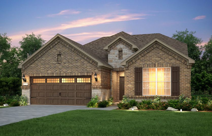 Exterior featured in the Mooreville By Pulte Homes in Dallas, TX