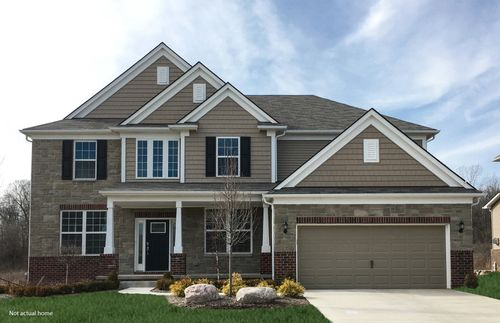 Estates at Pittsfield Glen by Pulte Homes in Ann Arbor Michigan