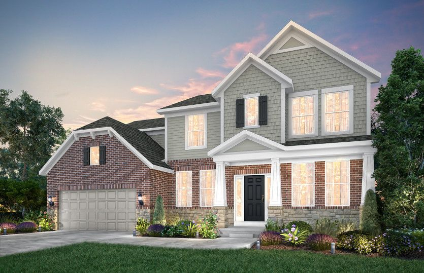 Exterior featured in the Lauren By Pulte Homes in Ann Arbor, MI