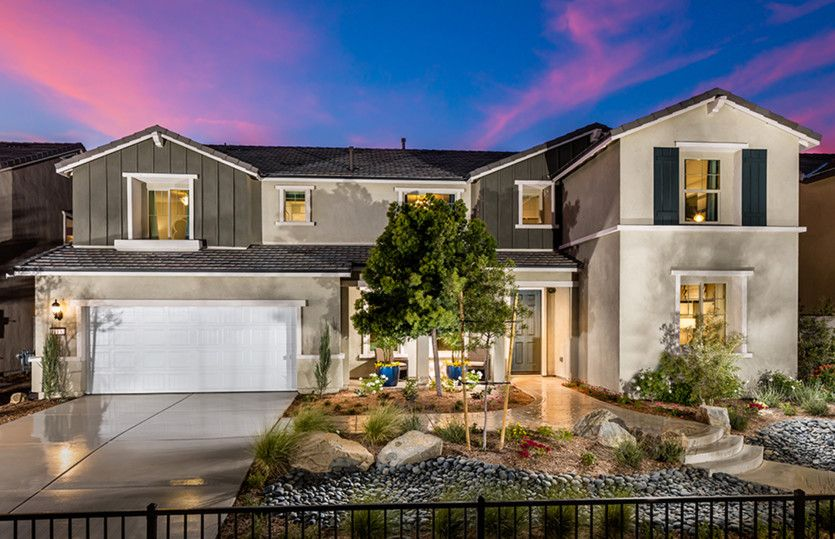 Exterior featured in the Ashford By Pulte Homes in Riverside-San Bernardino, CA
