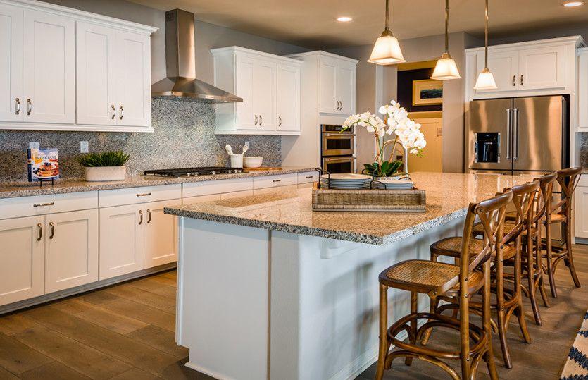 Kitchen featured in the Ashford By Pulte Homes in Riverside-San Bernardino, CA