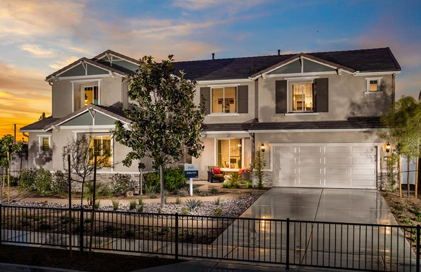 Exterior featured in the Shelton By Pulte Homes in Riverside-San Bernardino, CA