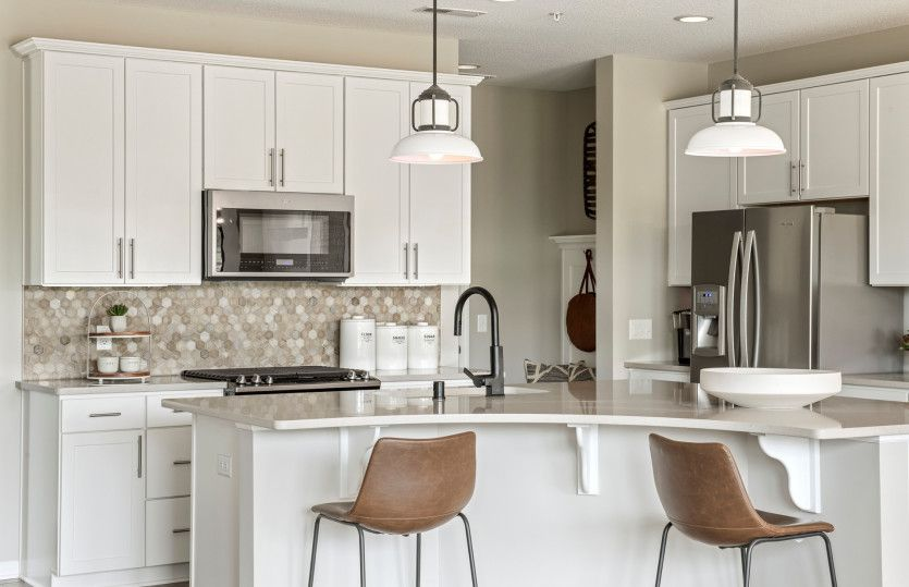 Kitchen featured in the Ashton By Pulte Homes in Minneapolis-St. Paul, MN