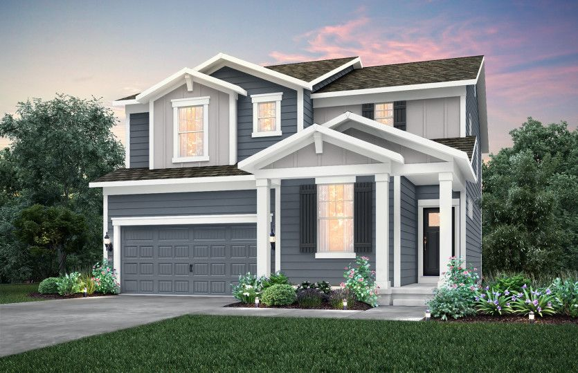 Exterior featured in the Boardwalk By Pulte Homes in Indianapolis, IN