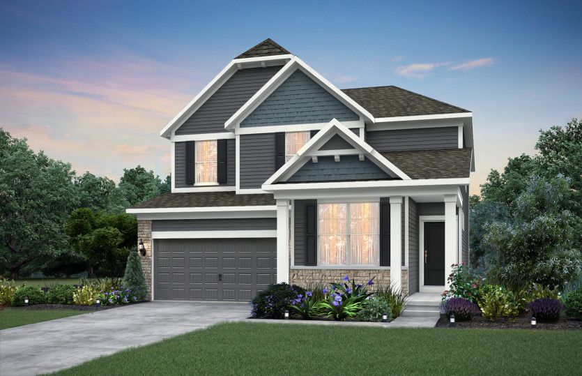 Exterior featured in the Park Place By Pulte Homes in Indianapolis, IN