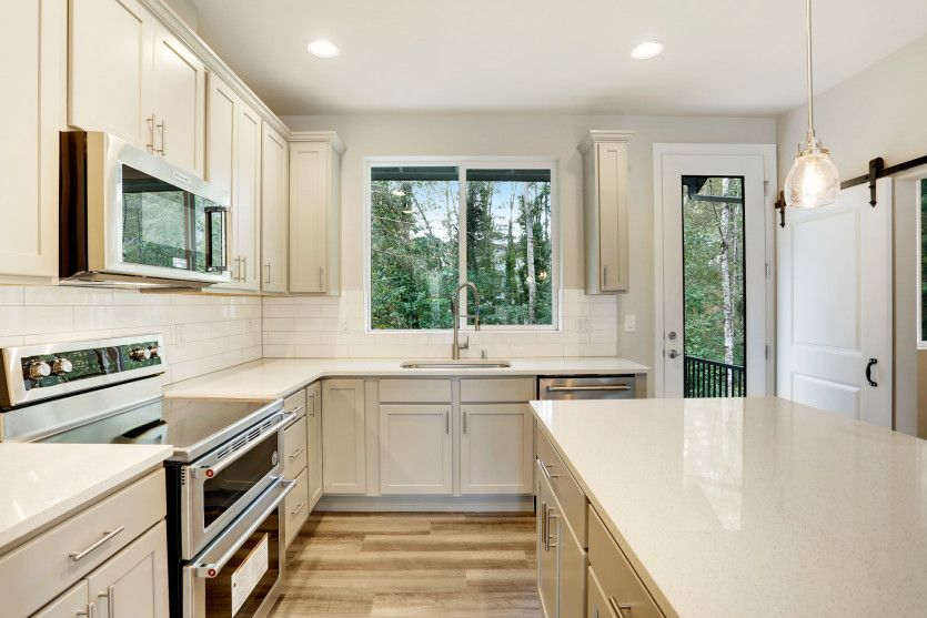Kitchen featured in the Residence II By Pulte Homes in Seattle-Bellevue, WA