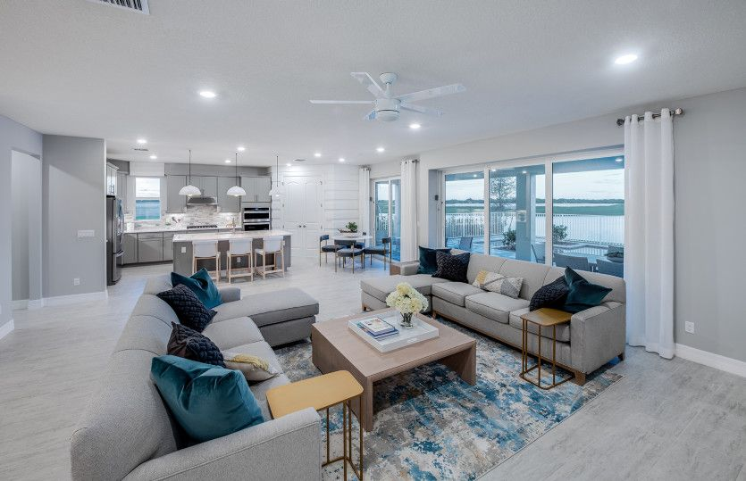 Living Area featured in the Dockside By Pulte Homes in Martin-St. Lucie-Okeechobee Counties, FL