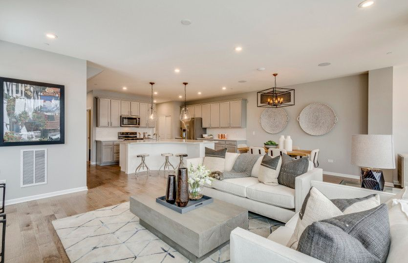 Living Area featured in the Bowman By Pulte Homes in Indianapolis, IN