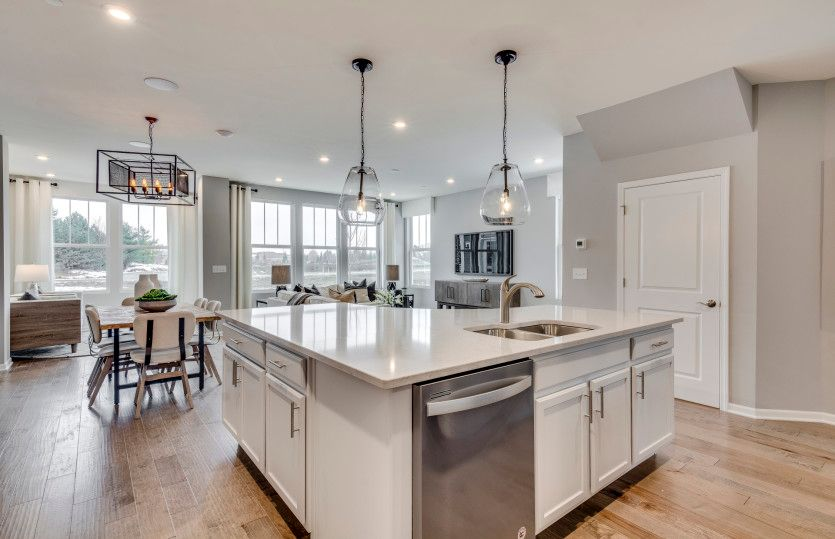 Kitchen featured in the Bowman By Pulte Homes in Indianapolis, IN
