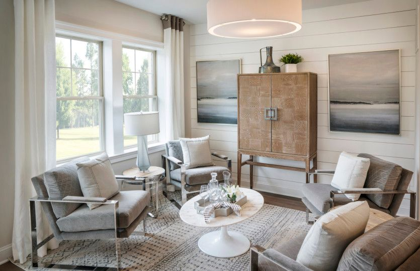 Living Area featured in the Wildwood By Pulte Homes in Morris County, NJ