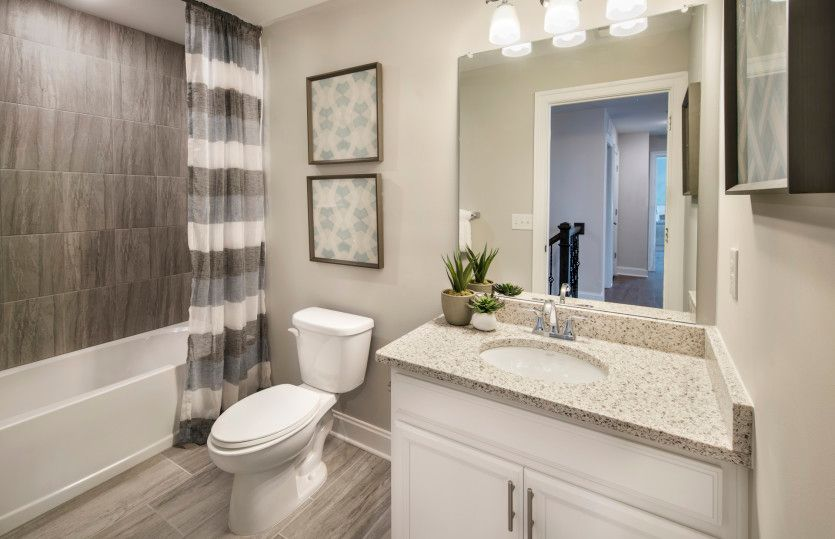 Bathroom featured in the Wildwood By Pulte Homes in Morris County, NJ