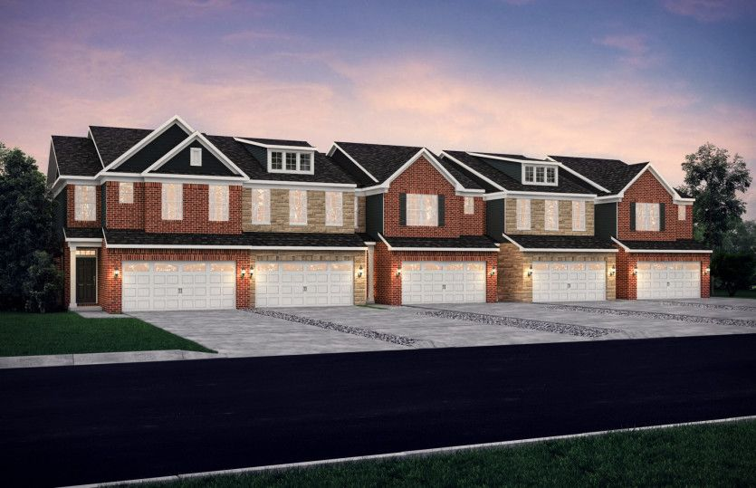 Exterior featured in the Denali By Pulte Homes in Detroit, MI