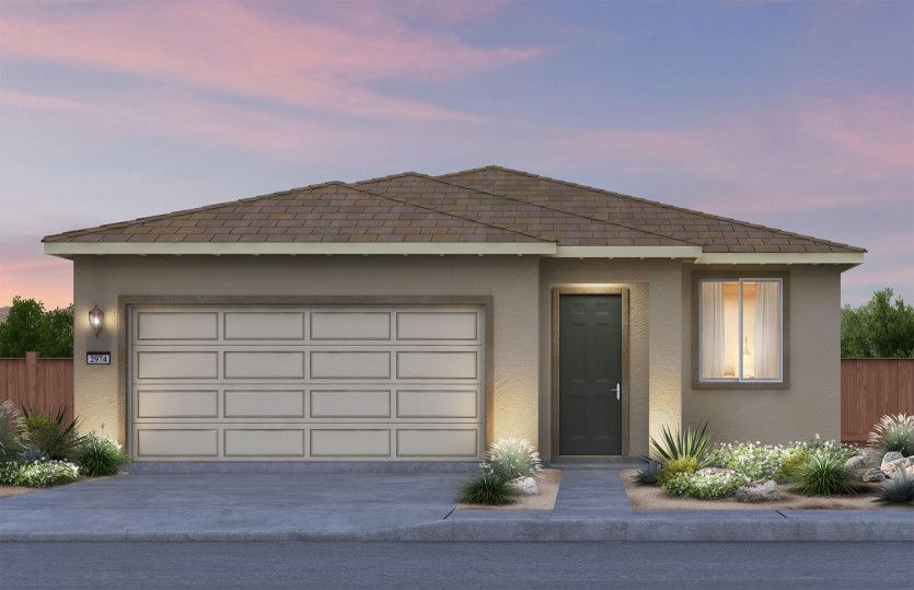 Exterior featured in the Independence By Pulte Homes in Las Vegas, NV