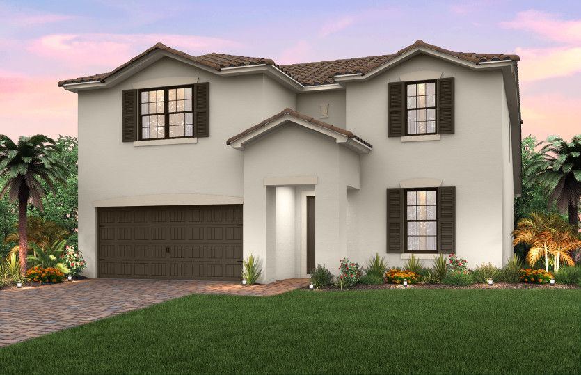 Exterior featured in the Citrus Grove By Pulte Homes in Broward County-Ft. Lauderdale, FL