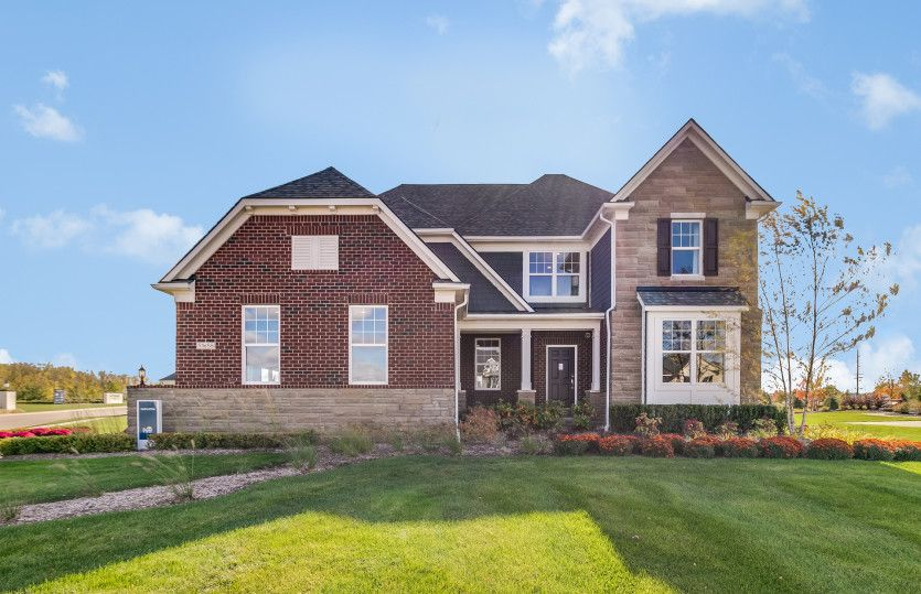 Exterior featured in the Castleton By Pulte Homes in Detroit, MI