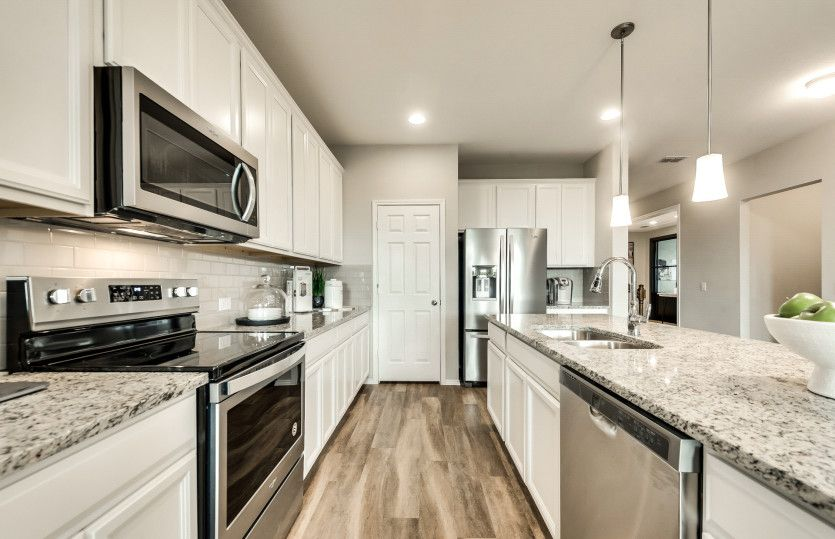 Kitchen featured in the Thomaston By Pulte Homes in San Antonio, TX