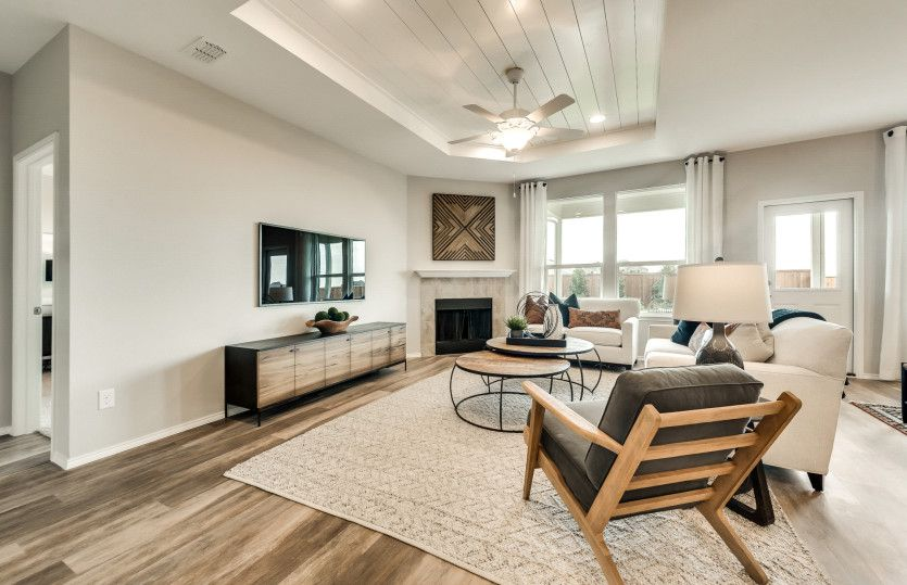 Living Area featured in the Thomaston By Pulte Homes in San Antonio, TX