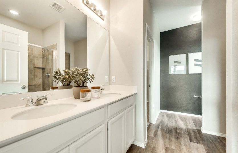 Bathroom featured in the Thomaston By Pulte Homes in San Antonio, TX