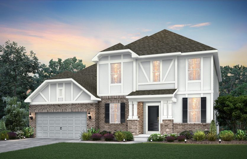 Exterior featured in the Westchester By Pulte Homes in Indianapolis, IN