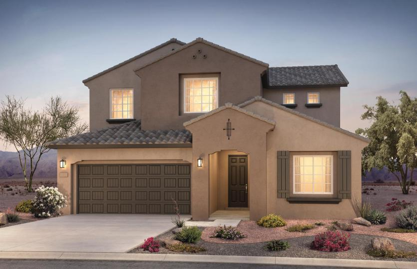 Exterior featured in the Trento By Pulte Homes in Albuquerque, NM