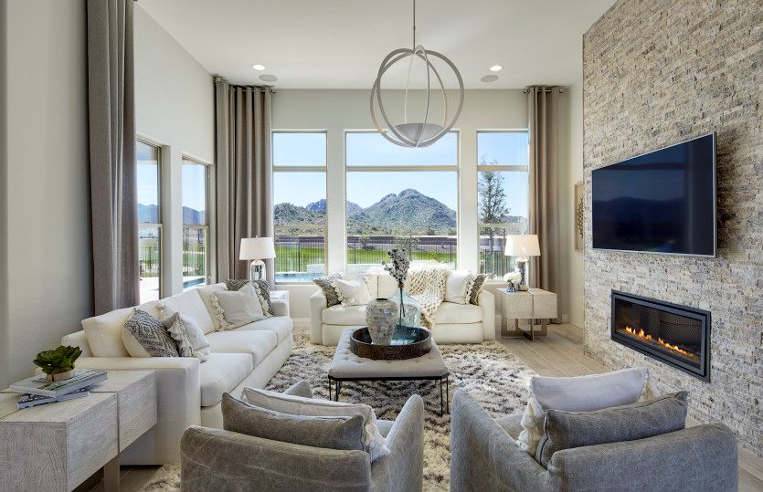 Living Area featured in the Eternity By Pulte Homes in Tucson, AZ