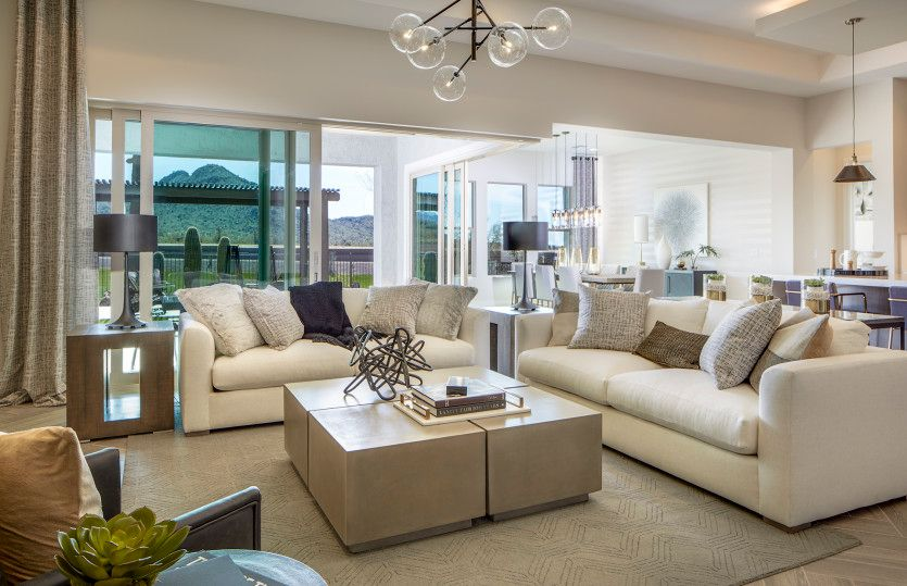 Living Area featured in the Virtue By Pulte Homes in Tucson, AZ