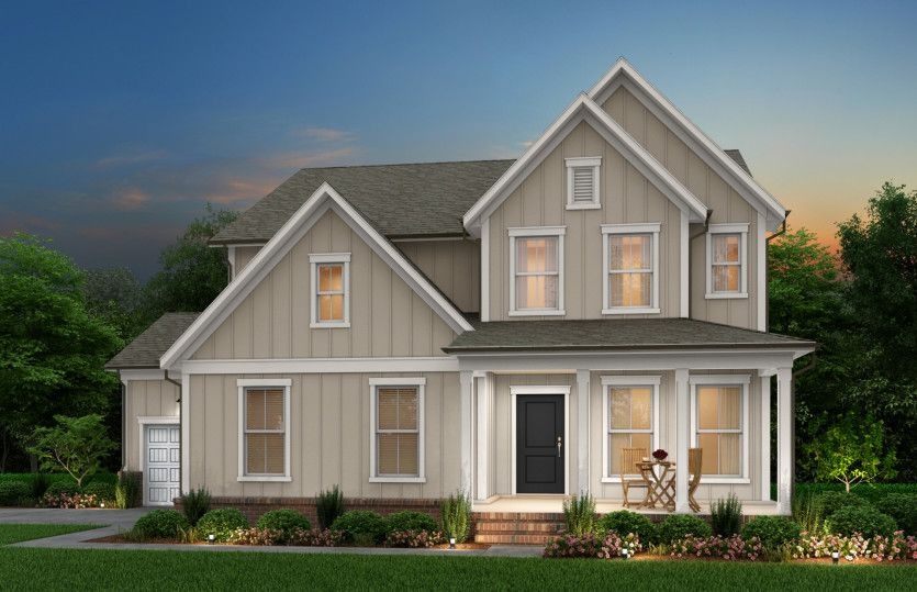 Exterior featured in the Continental By Pulte Homes in Raleigh-Durham-Chapel Hill, NC