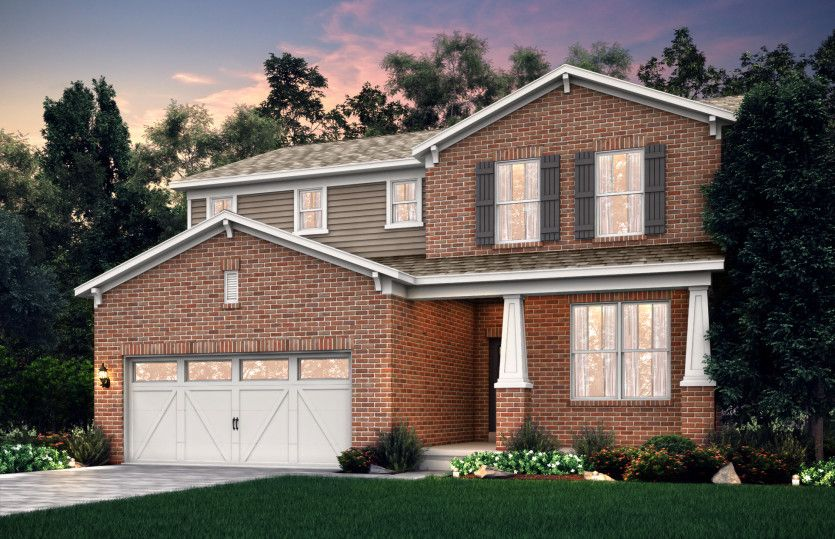 Exterior featured in the Newberry By Pulte Homes in Louisville, KY