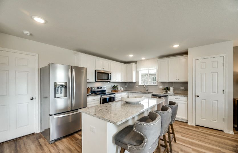 Kitchen featured in the Sandalwood By Pulte Homes in Fort Worth, TX