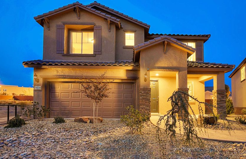 Exterior featured in the Firwood By Pulte Homes in Albuquerque, NM