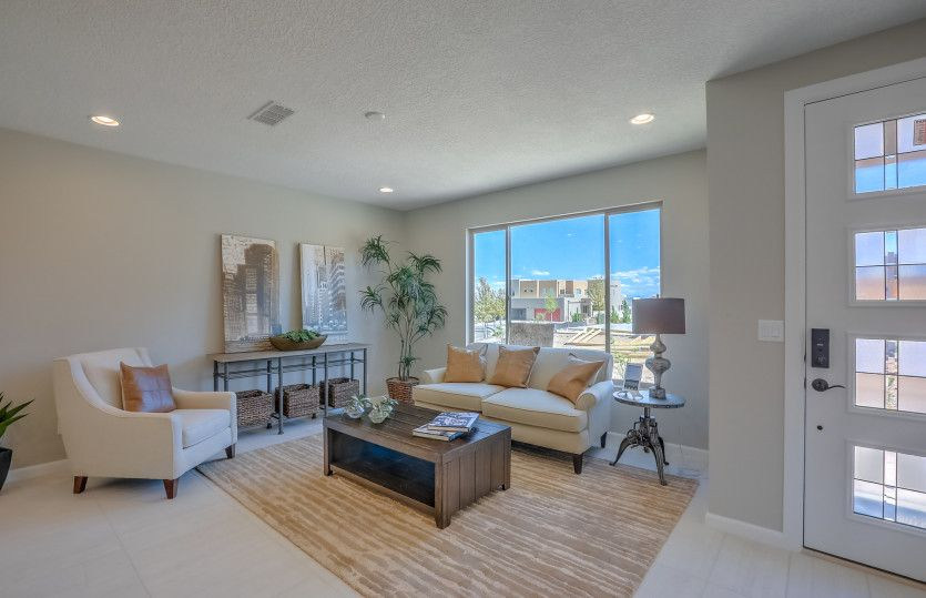Living Area featured in the Indigo By Pulte Homes in Santa Fe, NM