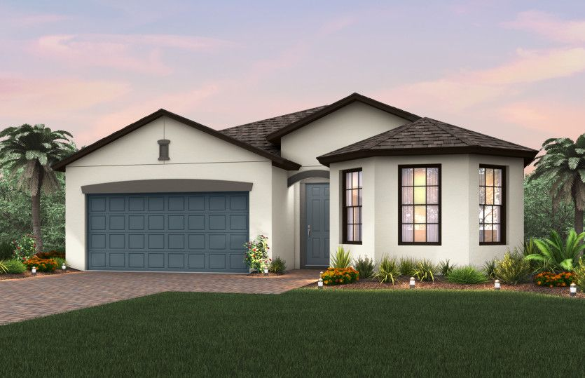 Exterior featured in the Marina By Pulte Homes in Indian River County, FL