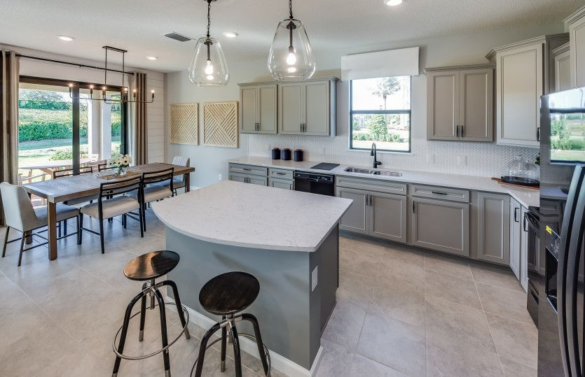 Kitchen featured in the Marina By Pulte Homes in Indian River County, FL