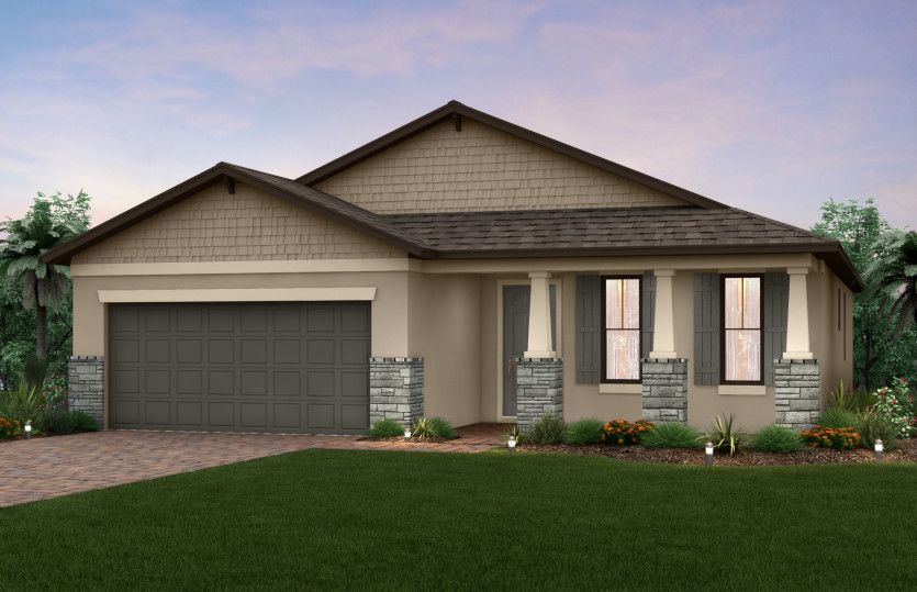 Exterior featured in the Canopy By Pulte Homes in Indian River County, FL
