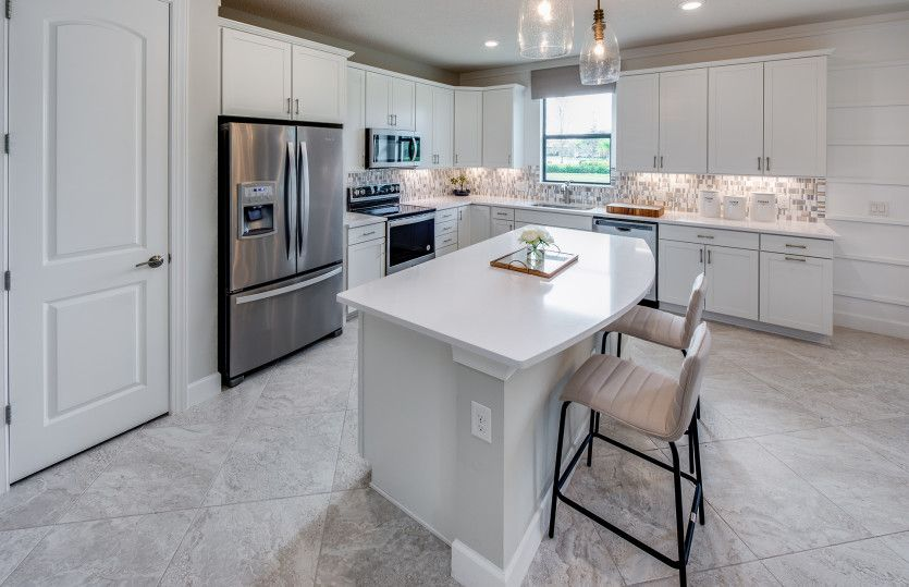 Kitchen featured in the Oasis By Pulte Homes in Indian River County, FL