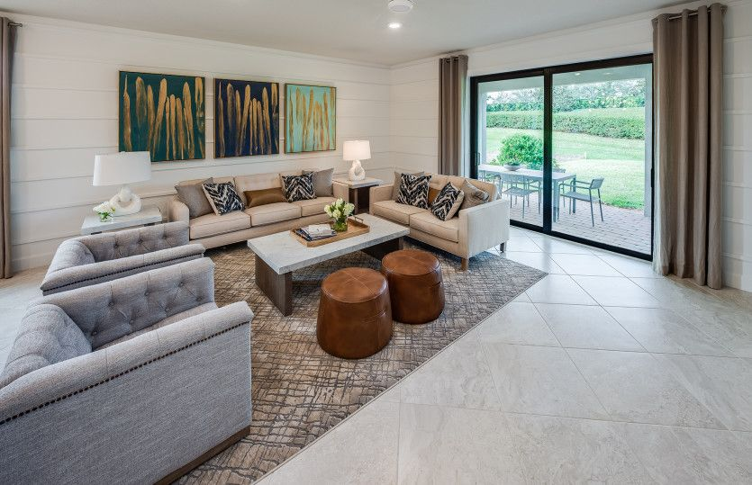 Living Area featured in the Oasis By Pulte Homes in Indian River County, FL