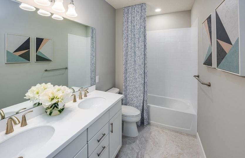 Bathroom featured in the Oasis By Pulte Homes in Indian River County, FL