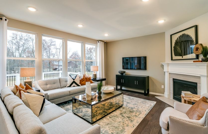 Living Area featured in the Lauren By Pulte Homes in Detroit, MI