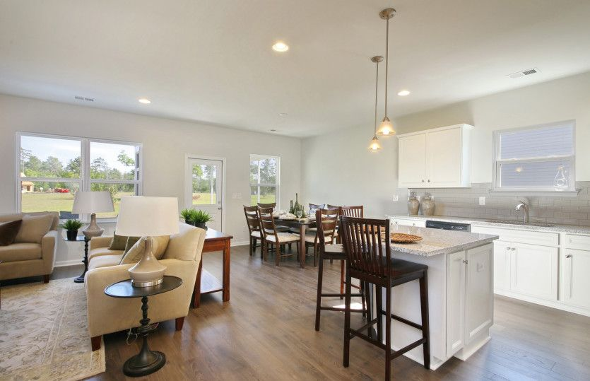 Living Area featured in the Rosemont By Pulte Homes in Wilmington, NC
