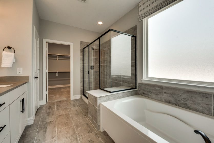 Bathroom featured in the Mooreville By Pulte Homes in Houston, TX